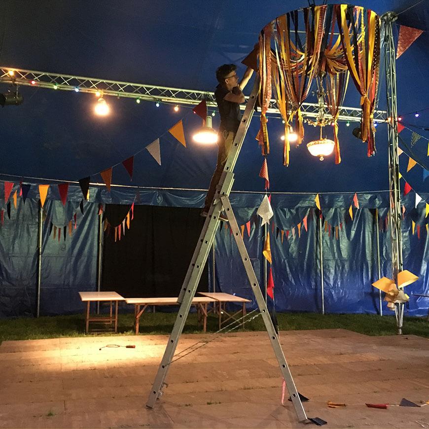 Mariage F&T_ Thème du cirque_ Par Menu Détail